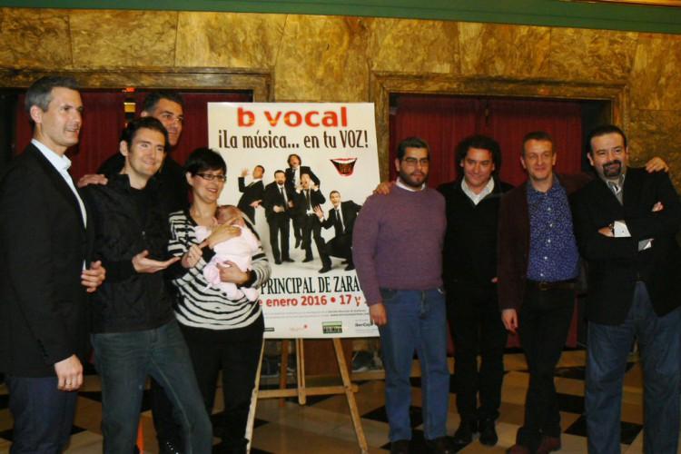 """b vocal donará el 10% de las entradas de """"La música en tu voz"""" a niños aragoneses con enfermedades raras"""